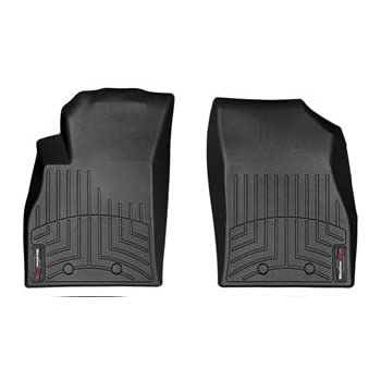 Amazon Com 2011 2015 Chevrolet Volt Front Set Weathertech Custom Floor Mats Liners Black