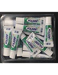 6 Super Poligrip Denture Adhesive .30oz Pocket Size