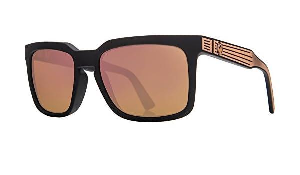 b3924b146814 Amazon.com  Dragon Alliance Matte Black Rose Gold Ion Mr. Blonde Sunglasses   Sports   Outdoors