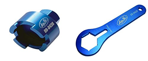 (Motion Pro Blue 50mm WP Dual Chamber Fork Cap Wrench 08-0428|08-0436)