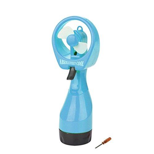 Water Spray Cooling Fan ,Vanvler Handheld Portable Misting Fan Clearance! (Blue) ()