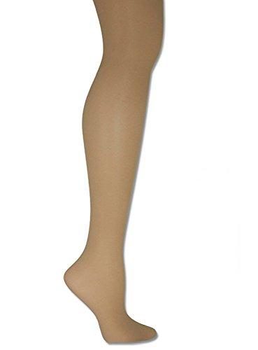 Donna Karan Hosiery Signature Sheer Satin Pantyhose, Plus Petite, Chocolate