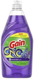 GAIN DISH LIQUID LAVENDER 21.6 OZ