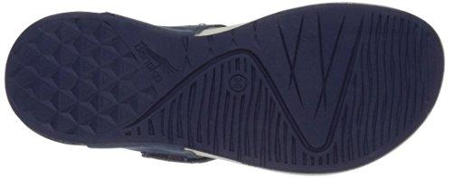 Dansko Womens Catalina Flat Sandal Blue Nubuck yzUUJ3n3