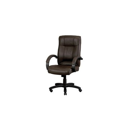 Eurotech Seating Odyssey Collection High Back Brown Leather Executive ()