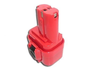 12V,1500mAh,Ni-Cd, Replacement Battery for Makita 1220, 1222, 192681-5, 193981-6, 638347-8, 638347-8-2, PA12,
