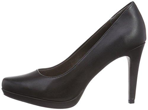 22448 Negro Matt Sintético Material De black Cerrados Tacón Schwarz Tamaris 020 Mujer Zapatos gP6yqgd