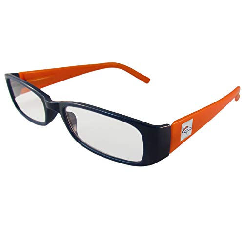 Denver Broncos Glass - NFL Team Color Reading Glasses (+1.75, Denver Broncos)