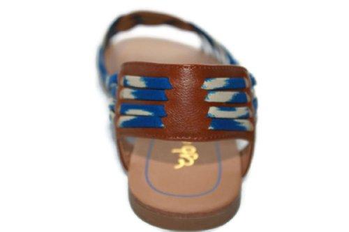SCHUBAR CHOCOLATE BLUE MODELE SANDALES ENYA YvUq7Uw