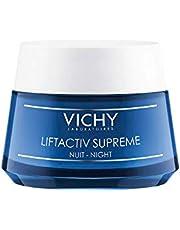 Vichy LiftActiv Night Supreme Anti Wrinkle and Firming Night Cream, 1.69 Fl Oz