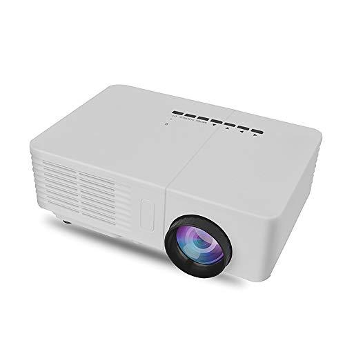 John-L Mini Beamer,LED Portable Projector Unterstützung für Computer USB-Flash SD-Karte DVD,Kinder Videoprojektor für…
