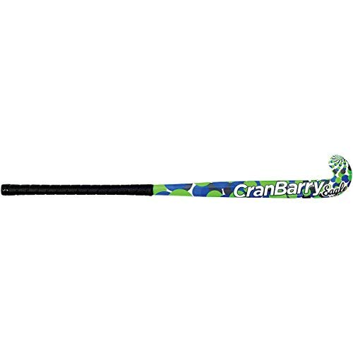 CranBarry Eagle Field Hockey Stick Blue/Green 36IN