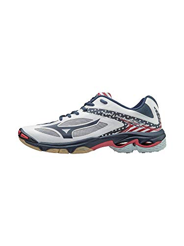 Mizuno Women's Wave Lighting Z3 Volleyball Shoe,Stars/Stripes,9 B US