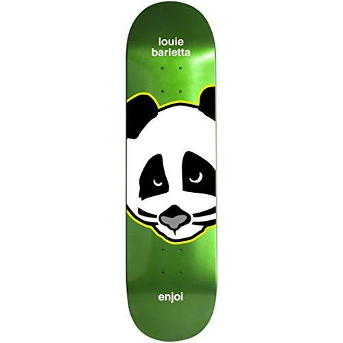 "Enjoi Skateboard Deck Kiss Metallic Barletta 7.75"""