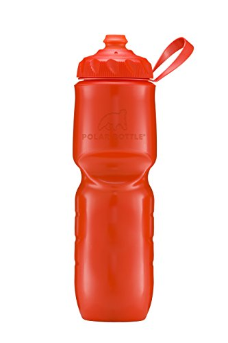 Polar Bottle Insulated Water Bottle - 24oz. Color Series {Tomato} -
