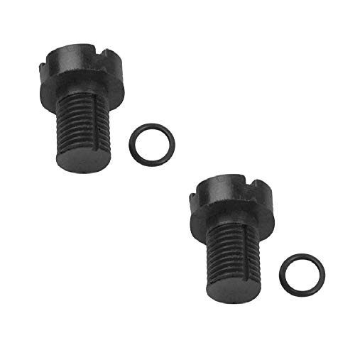 FLYPIG For BMW Bleeder Screw + Seal for Coolant Expansion Tank Premium Quality 12788 (2pcs) ()
