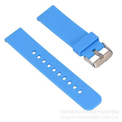 Jewh Watch Band Samsung Smart Watch - Silicone Wrist Strap Xiaomi Huami Amazfit - 22mm Pulseira