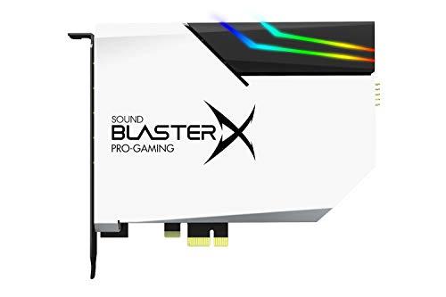 Creative Sound BlasterX AE-5 Plus Pure Edition SABRE32 Ultra-class 32-bits/ 384kHz PCI-e-geluidskaart voor games en DAC…