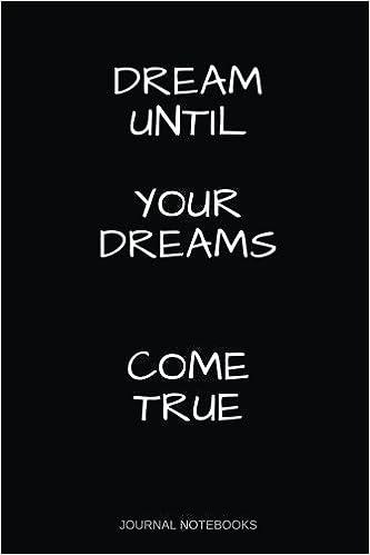 Dream Until Your Dreams Come True: With Dream Quotes ...