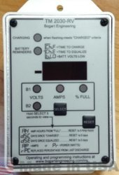 Bogart Engineering TM-2030RV-F TRIMETRIC Battery Monitor