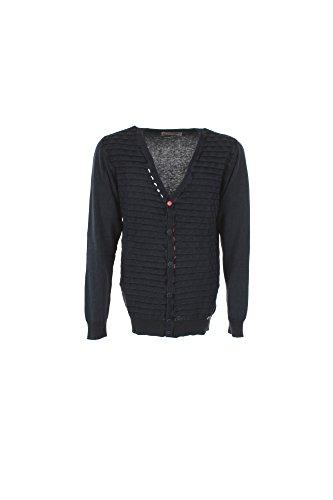 Cardigan Uomo Outfit M Blu Ofn114 Primavera Estate 2017