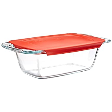 Pyrex Easy Grab 1.5-Quart Glass Loaf Dish