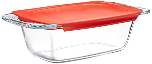 Pyrex Easy Grab 1.5-Quart Glass Loaf Dish ()