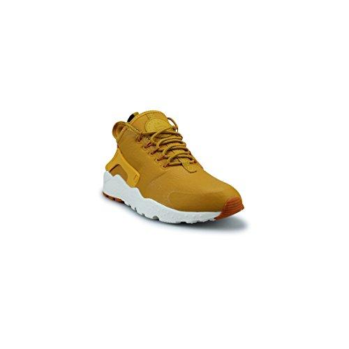 Nike Women Huarache Run Ultra Prm Running Sneakers 859511 Scarpe Da Ginnastica (us 8.5, Gold Leaf Sunset Sail 700)