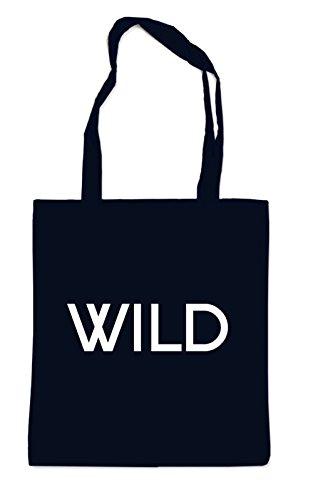 Wild Font Bag Black