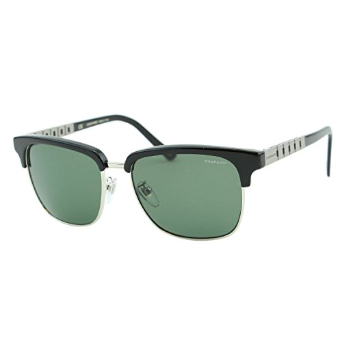 Chopard G.P.M.H. SCH-B30 Men Black Titanium Chain Polarized Square - Sunglasses Men For Chopard