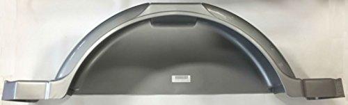 Triton 08349 AUT 13-inch Silver Plastic Fender