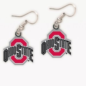 (Wincraft NCAA Ohio State University Earrings Jewelry Card)