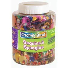 (Creativity Street Sequins/Spangles Assortment Shaker Jar)