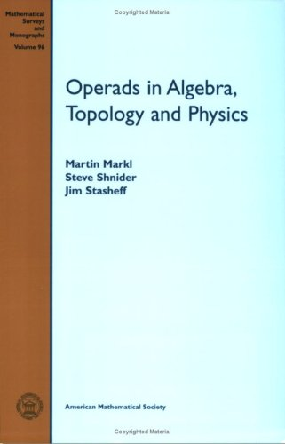 Operads in Algebra, Topology and Physics (Mathematical Surveys and Monographs)