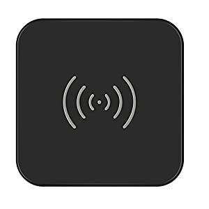 CHOETECH Wireless Charger, Qi Certified T511 Wireless Charging Pad with Anti-Slip Rubber Base for iPhone 8 / 8 Plus, iPhone X, Samsung Galaxy S9 / S9+, Note 8 / S8 / S8 Plus, S7 / S7 Edge and Qi-Enabled Devices