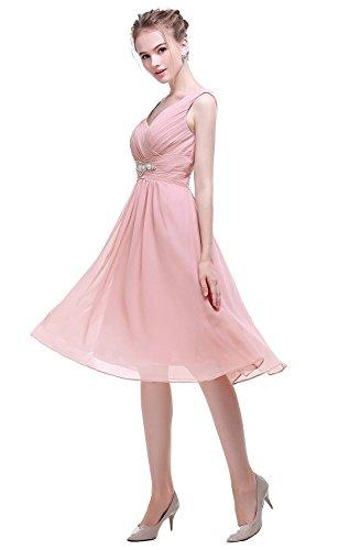 trapecio Sin Vestido sandía mujer Aiyana para mangas rojo BOaqwnxP5