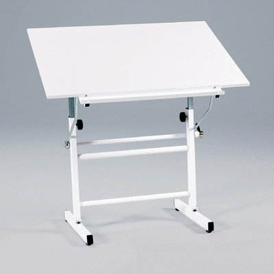 Martin BelAire Neuvo Drafting-Art Table, White Base with White Top, 30-Inch by 42-Inch Surface by Martin