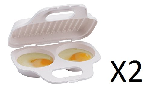 Progressive International GMMC-71 Microwave Two Egg Poach...