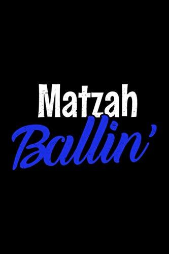 Journal: Funny Jewish Matzah Matzo Ball Soup Hanukkah Black Lined Notebook Writing Diary - 120 Pages 6 x 9 ()