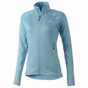 adidas Sport Performance Terrex Swift Pordoi Fleece Jacket, Samba Blue, Small