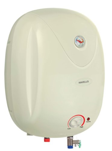 671086383b6e54 Buy Havells Puro 10-Litre 2000-Watt Storage Water Heater (Ivory) Online at  Low Prices in India - Amazon.in