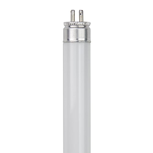 6 Pack 6-Watt T5 Black Light Blue F6T5//BLB Linear Fluorescent 9 Inches Long...