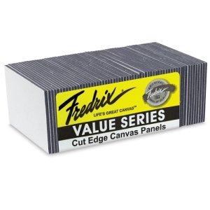 Fredrix Value Series Cut Edge Canvas Panel, 8 in Square, ...