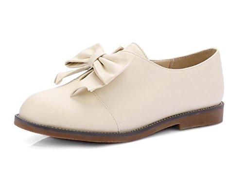 Mme de printemps de chaussures d'ascenseur chaussures plates étudiants princesse chaussures arc chaussures , US7.5 / EU38 / UK5.5 / CN38