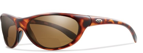 Smith Optics Fly By Ready-To-Wear Bifocal Sunglasses- Tortoise Frame with Polarized Brown Lens - Sunglasses Rei