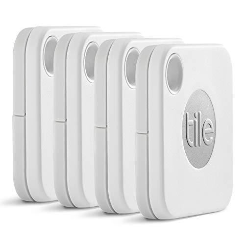 Tile Mate 4個(電池交換版) お得パック 探し物/スマホが見つかる 紛失防止 日米シェアNo.1 スマートスピーカー対応【日本正規代理店品】 EC-13004-AP