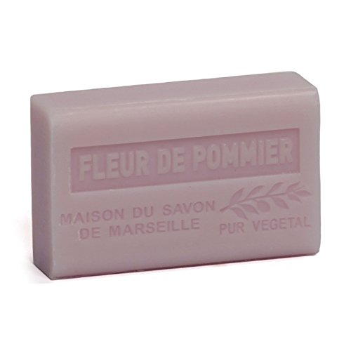 不注意黙過剰Savon de Marseille Soap Apple Blossom Shea Butter 125g