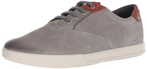ECCO Men's Collin 2.0 CVO Tie Sneaker, Warm Grey/Cognac, 42 M EU (8-8.5 US)