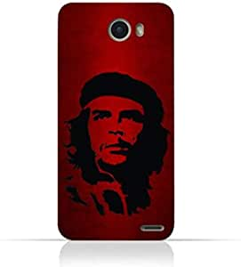 Infinix Hot X600 TPU Silicone Case with Che Guevara Silhouette Pattern