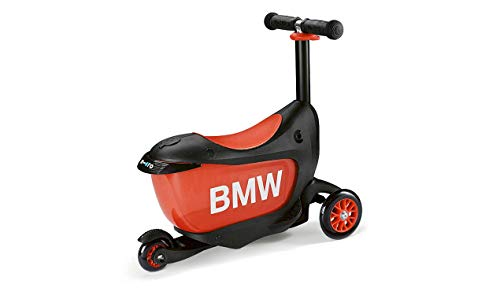BMW Original Kids Patinete en tres ruedas negro/naranja ...